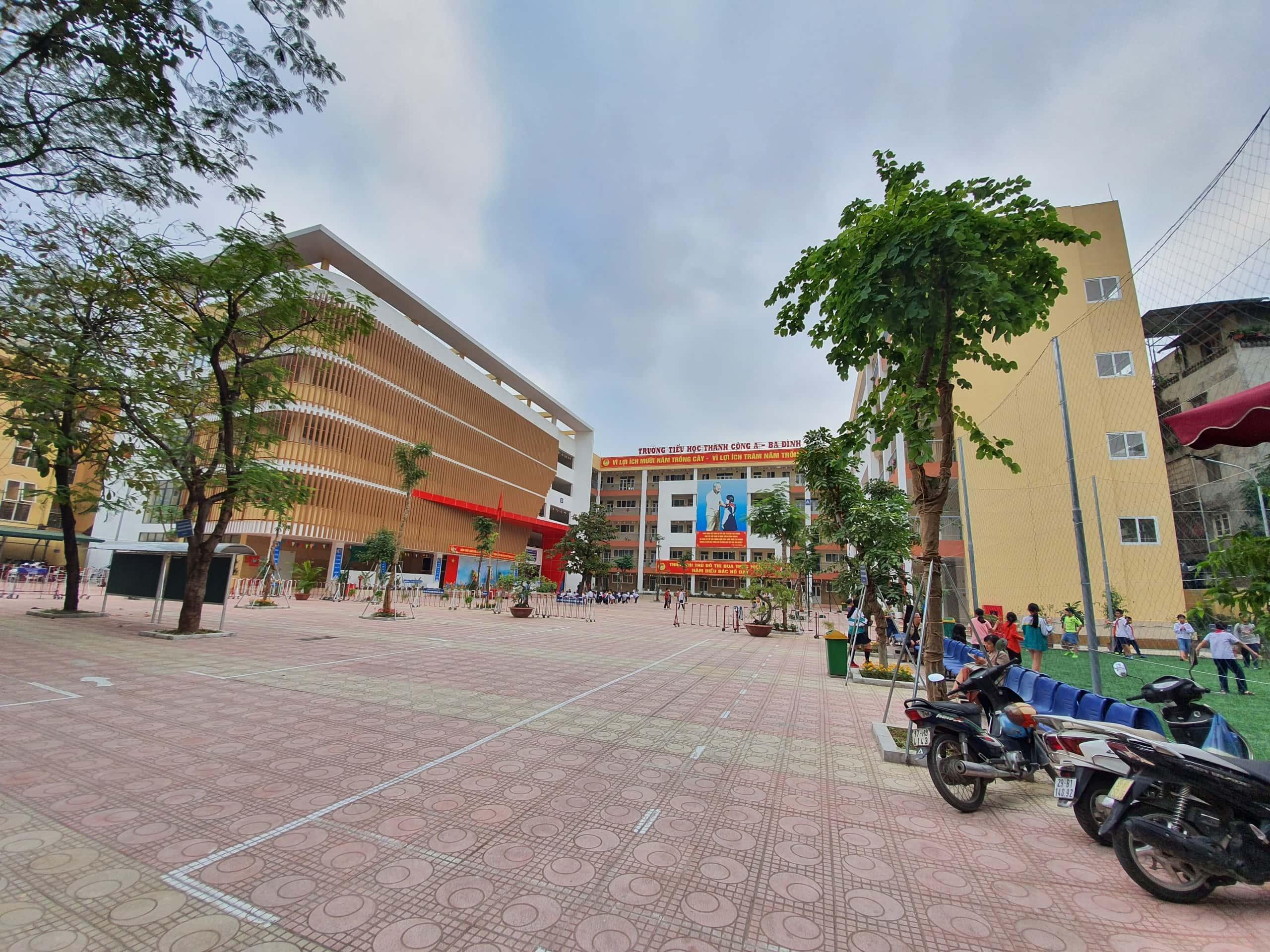 Trường tiểu học Thành Công A, Ba Đình, Hà Nội - Thanh Cong A elementary school, Ba Dinh district, Hanoi