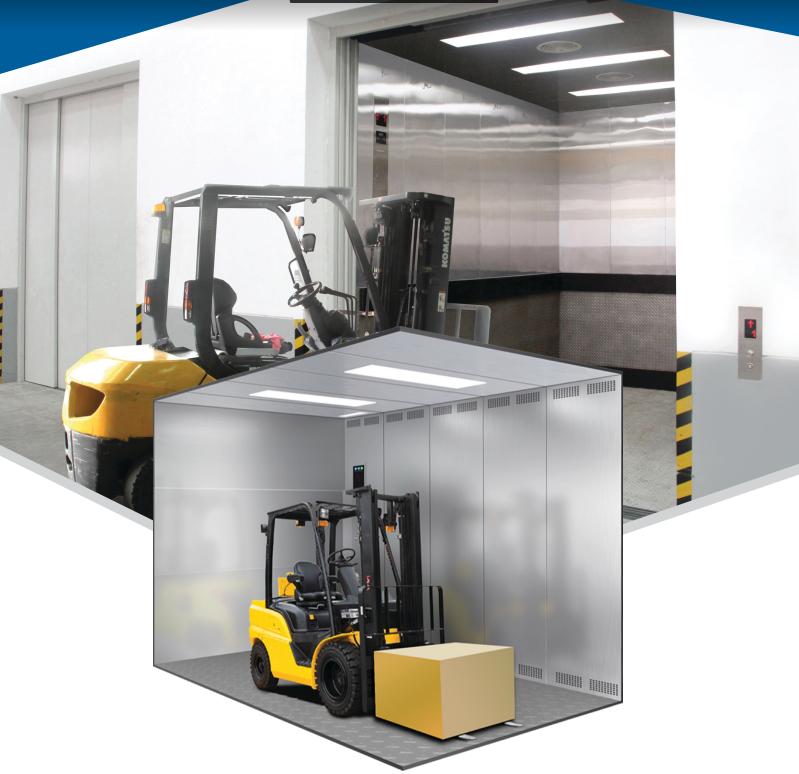 Dịch vụ lắp đặt thang máy tải hàng công nghiệp
