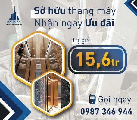 Tư vấn lắp đặt thang máy tải khách - Thang máy Đông Đô